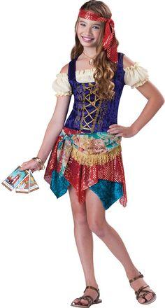 Gypsy's Spell Tween Costume
