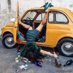 Пьяная девушка и фиат-500 :: сайт новой усмани и воронежа http://bloginmydreams.ru/viewtopic.php?t=1045
