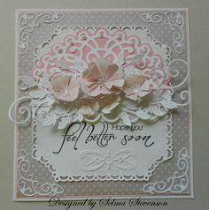 Get Well Card - Selma's Stamping Corner: Heartfelt Creations June Alumni Blog Hop