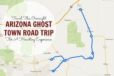 This Haunting Road Trip Through Arizona Ghost Towns Is One You Won't Forget