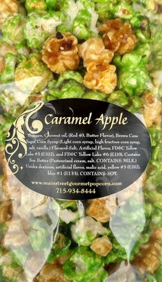 This is a flavorful blend of our Gourmet Caramel Corn and Apple Flavor.  Reminds you of the caramel apple you love to eat in the fall season.  https://tastykernel.haywardgourmet.com/