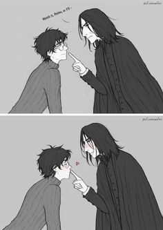 Harry Potter Animé, Harry Potter Comics, Harry Potter Severus Snape, Harry Potter Artwork, Drarry Fanart, Cute Art, Hogwarts, Harry Potter Books, Harry Potter Anime
