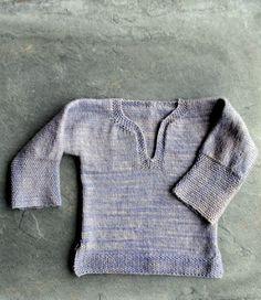 Easy Pullover for Kids - 30 Super Easy Knitting and Crochet Patterns for Beginners