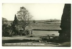 Burcote-on-Thames- photographic p/card of Wittenham Clumps from Riverside Hotel | eBay