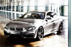 Bmw 4 Series Coupe Front View