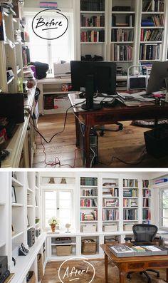Lastest Organizing  Home Office On Pinterest  Desk Office Gold Desk