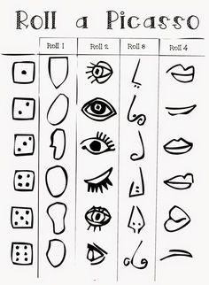 Working like. Art Picasso, 8th Grade Art, Abstract Face Art, Cubism Art, Art Classroom, Art Plastique, Elementary Art, Teaching Art, Art Activities