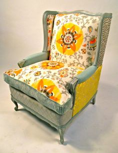 Chair collection - Happy Chair by Shawna Robinson.  <3
