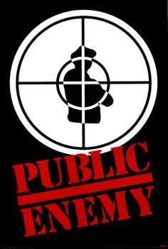 Public Enemy logo - hip-hop branding at it's finest #peinfulleffectbrother