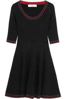 Prabal Gurung Flared wool dress | NET-A-PORTER