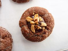 pastry studio: Chocolate Cinnamon & Hazelnut Thumbprints