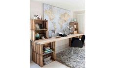 19 DIY desk ideas to inspire a home office makeover: Fun and funky desks
