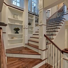 LOVE THIS!! Traditional Staircase by Spacecrafting / Architectural Photography