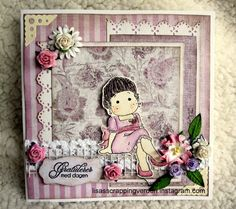 Birthdaycard - Scrapbook.com Layout, Scrapbook, Gallery, Frame, Projects, Cards, Inspiration, Home Decor, Picture Frame