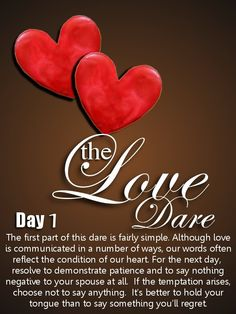 Love Dare Day this book helped to save my marriage! From Fireproof movie. Love Dare, My Love, Marriage Advice, Love And Marriage, Failing Marriage, Love Website, More Than Love, Gods Glory, Do It Anyway