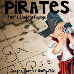 Pirates and Parrots and Learning, Oh, my!  Set sail on a fun learning adventure as you learn about pirates (kid friendly), maps, and parrots.  This unit is packed full of literacy, math, and science fun.  Perfect for kicking off the year with a pirate theme, National Talk Like a Pirate Day, or an End of the Year celebration.***************************************************************************Here's some of what's included:*Pirate Glyph with charts, directions, and templates*Printable…