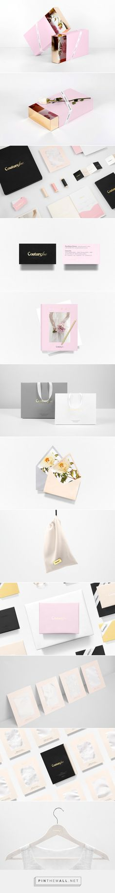 Couture Inc. #packaging by Anagrama - http://www.packagingoftheworld.com/2015/02/couture-inc.html
