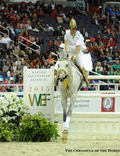 Campbell and Gabriel cleared the joker fence to finish in eighth.   The Chronicle of the Horse