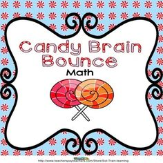 Our Brain Bounce helps your kids practice addition, subtraction, greater than, and less than. This great math game is one of our new Brain Bounce games . You can also use these cards in a center or as a Scoot game. Included: -24 Cards -Directions to Brain Bounce -Recording and Answer sheets $ #math#game#task cards#education#teaching ideas#TPT