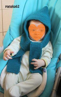 Bonnet écharpe bleu canard Phildar tuto (3) Fingerless Gloves, Arm Warmers, Crochet Hats, Blanket, Knitting, Diy, Bonnets, Iphone, Turbans