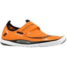 Saucony Hattori - Men's - Running - Shoes - Vizipro Orange/Black