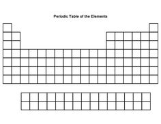 29 best blank periodic table images countertops worksheets rh pinterest com