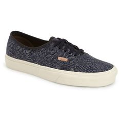 Vans 'Authentic - CA' Print Sneaker ($65) ❤ liked on Polyvore featuring men's fashion, men's shoes, men's sneakers, vans mens shoes, mens leopard print sneakers, mens canvas sneakers, mens shoes and mens leopard print shoes