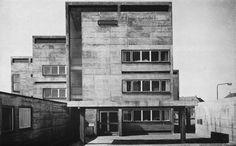 fuckyeahbrutalism:  Haus Sindlingen, Frankfurt am Main, 1961 (Günter Bock)