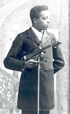 """Joseph Douglass was born in the Anacostia area July 3, 1869 to Charles and Mary Elizabeth Douglass, their second child and only that would live to adulthood. Following in the path of his famous grandfather and father, Joseph took up the violin at a young age, receiving classical training at the New England Conservatory for five years and later the Boston Conservatory. According to a history of black American music, Joseph would become the """"first black violinist to make transcontinental tours…"""