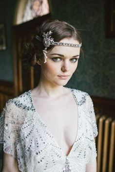 Daisy from Great Gatsby Costume Headpiece DIY
