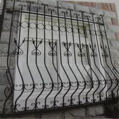 China high quality  wrought iron window grill design on sale