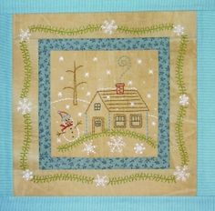 Bareroots quilt block for each month of the year