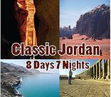 Classic Jordan 8 Days 7 Nights /  Best Tour Package to Jordan with online booking