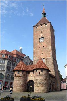 Weisser Turm - Nuremberg/Nürnberg, Germany/Deutschland                                                                                                                                                                                 Mehr