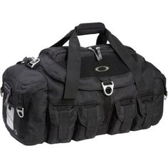 Oakley Men's Mechanism Duffel,Black,One Size Oakley. $180.00