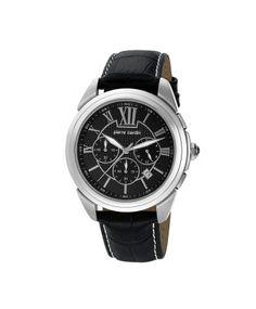 Pierre Cardin Black Chrono Watch for Men  #ohnineone #watch #timepiece