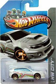 Hot Wheels 2013, Subaru WRX STI, HW CITY, #25/250. 1:64 Scale. by Mattel. $5.95. 1:64 Scale die cast. Ages 3 and up. SUBARU WRX STI