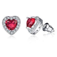 Valentine's Day is the time to show your love & these stunning heart earrings are a great start! #Elite1sReviews #AD https://www.amazon.com/gp/product/B01N1V4EIJ