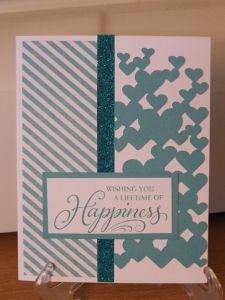 Patricia Manhire: CTMH #Skylark Wedding card #Artbooking #D1539TheHappyCouple