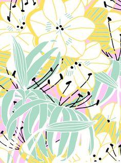 Trouvé par hasard sur Pinterest! Un de mes motifs réalisés pour ©NellyRodi