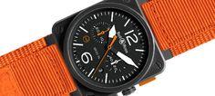 Bell & Ross apresenta o BR 03-94 Carbon Orange