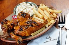 Yummy Nandos! We like ours HOT!