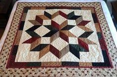 carpenter star quilt - Google Search Star Quilt Patterns, Star Quilt Blocks, Star Quilts, Easy Quilts, Scrappy Quilts, Quilting Projects, Quilting Designs, Quilt Of Valor, Quilt Border