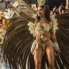 ALINE RISCADO --- ACADÊMICOS DO TUCURUVI  --- musas do carnaval de São Paulo 2016