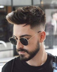 Popular Haircuts For Short Hair Men Mens Hairstyles With Beard, Cool Hairstyles For Men, Hair And Beard Styles, Hairstyles Haircuts, Short Hair Styles, Men's Haircuts Fade, Medium Hair Styles Men, 1940s Hairstyles, Popular Mens Haircuts