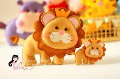 Felt Lion