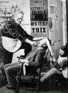 A trip to the dentist office 1892.