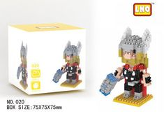 LNO Thor Nano Block Diamond Mini Building Block Marvel's The Avengers 020: $0.01 (0 Bids) End Date: Saturday Apr-7-2018 21:20:29 PDT Bid…