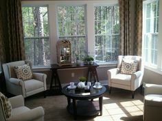 1000 images about alexander my 1st model home on for Morning room designs