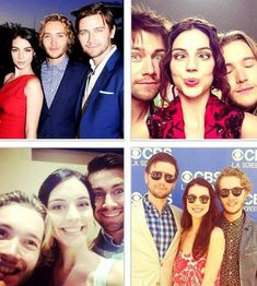 Adelaide Kane, Toby Regbo and Torrance Coombs